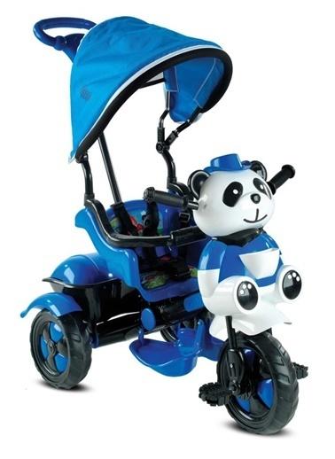 BabyHope 127 Little Panda 3 Tekerlekli Itmeli Bisiklet Mavi